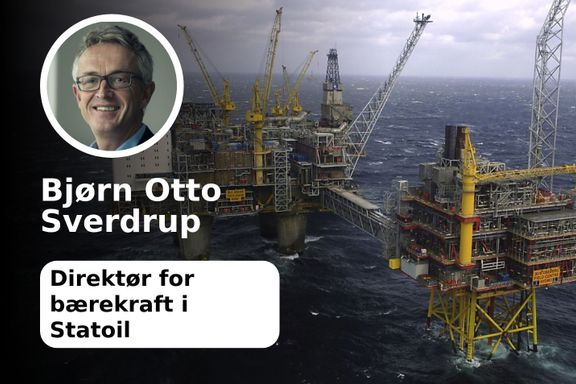 «Statoil har lave utslipp sammenlignet med andre oljeprodusenter»