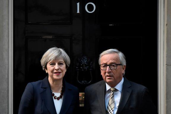 EU-kommisjonens president sa at engelsk mister betydning i Europa. Så holdt han talen sin på fransk.