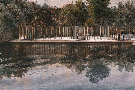 Utøya-minnesmerket skal stå klart neste sommer
