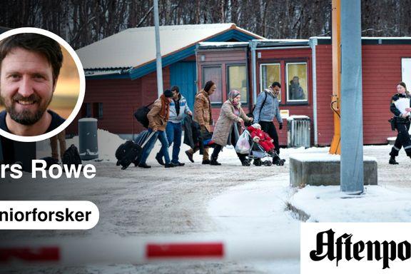 Storskog: Når innvandringspolitikk og sikkerhetspolitikk kolliderer   Lars Rowe