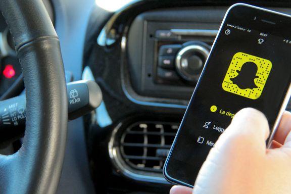 Rapport om mobilbruk i bil: – Som å kjøre med bind for øynene