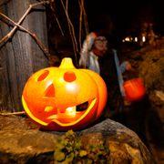Erna Solberg: Slik kan barna trygt feire halloween.