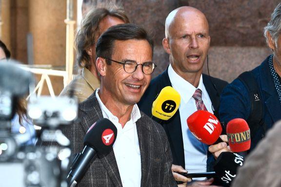 Det kom ikke på tale å forhandle så lenge Sverigedemokraterna var med i miksen