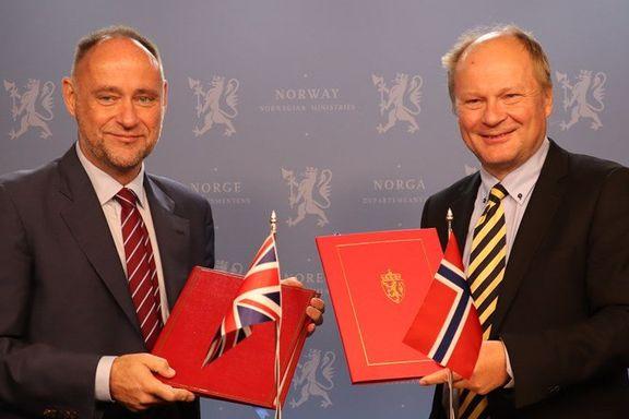 Norge inngår strømavtale med Storbritannia