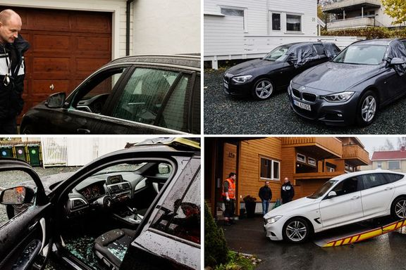Her har BMW-banden slått til de siste to månedene