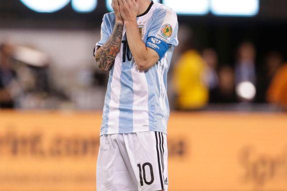 Messi gir seg på landslaget etter finalefiaskoen
