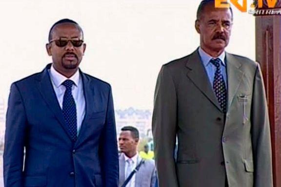 Etiopia og Eritrea undertegner historisk fredsavtale