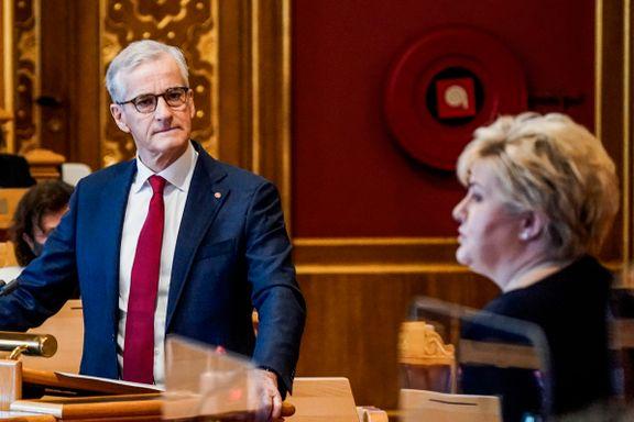 Støre og Solberg er rykende uenige om ulikheten i samfunnet har gått opp eller ned. Dette sier SSBs tall om påstandene deres.