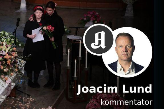 Maud Angelicas avskjedstale til sin far vil bli stående i norgeshistorien