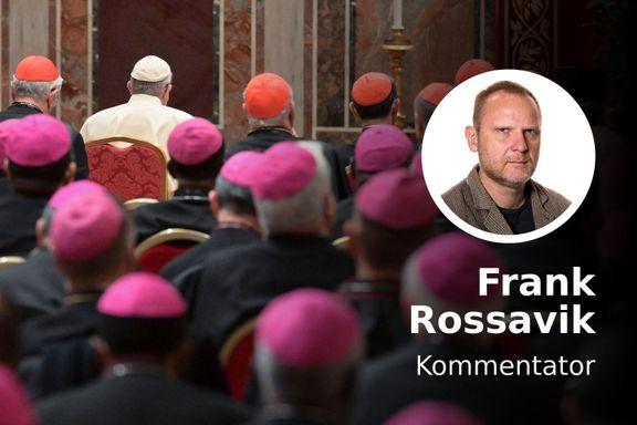 Katolikker forvirres av pavens ja til partnerskap for homofile