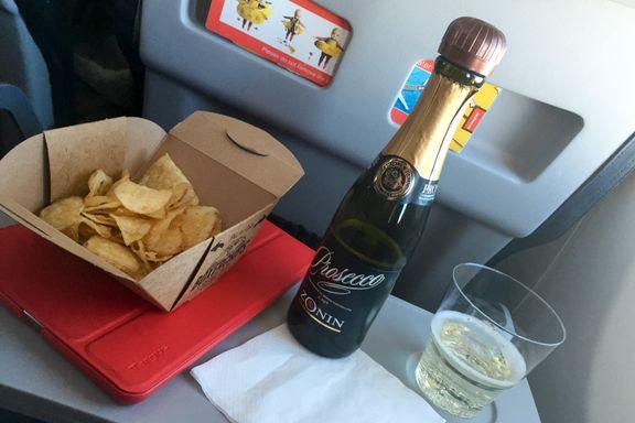 Balearene ønsker forbud mot alkoholservering på fly og flyplasser