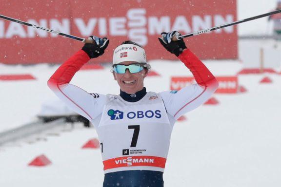 Bjørgen vant etter ellevill opphenting: – Noe av det mest ekstreme hun har gjort
