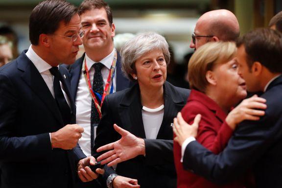 Frankrikes president har fått nok. Hvor mange andre EU-ledere vil snu ryggen til Theresa May og britene?
