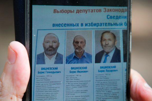 Den ene er Putin-kritiker. De to andre er dobbeltgjengere som skal forvirre velgerne.