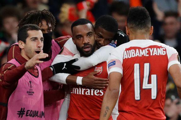Superspissene storspilte. Arsenal nærmer seg Europaliga-finalen.