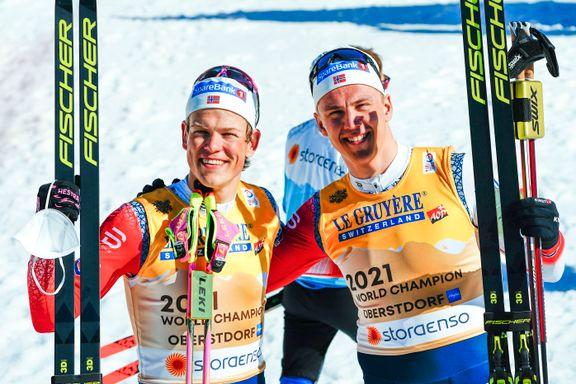 Første herreløper fra Troms med VM-gull: – Det er klart man blir rørt