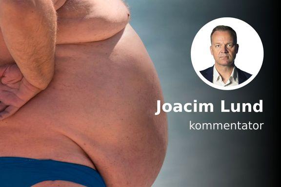 Sannsynligvis er du overvektig. Det er et politisk problem.