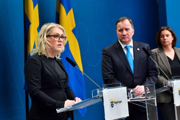 Sveriges regjering ville ha mer krisemakt. Ble møtt med sterke protester.