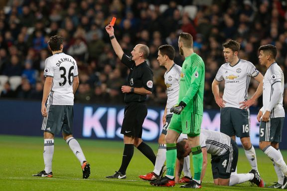 United vant, men det var dommeren som havnet i fokus: - Latterlig