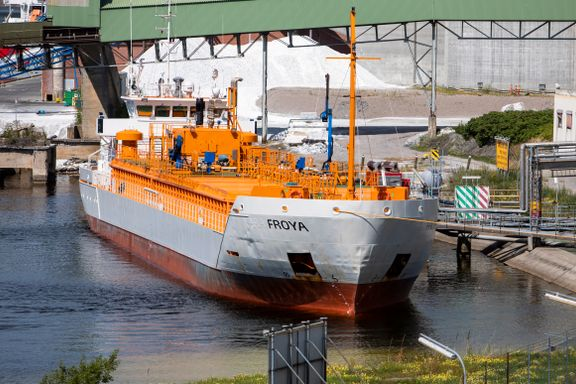 Dette skipet kom med etterlengtet CO2–last - ølet kan være sikret