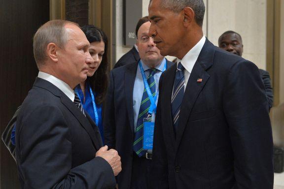 Aftenposten mener: Stort tilbakeskritt for Syria