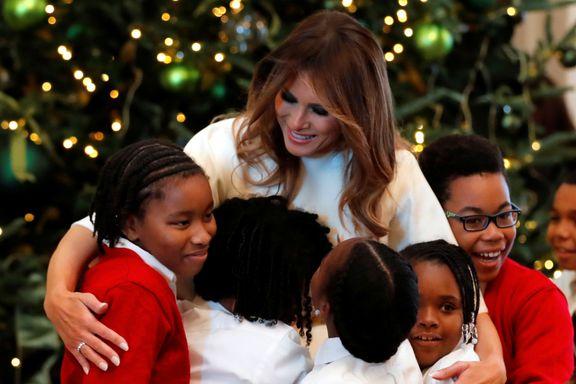 Flere amerikanere liker USAs førstedame Melanie Trump bedre enn ektemannen hennes