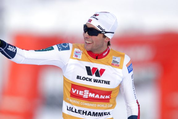Norsk dobbeltseier i kombinert - Riiber vant for sjette gang denne sesongen