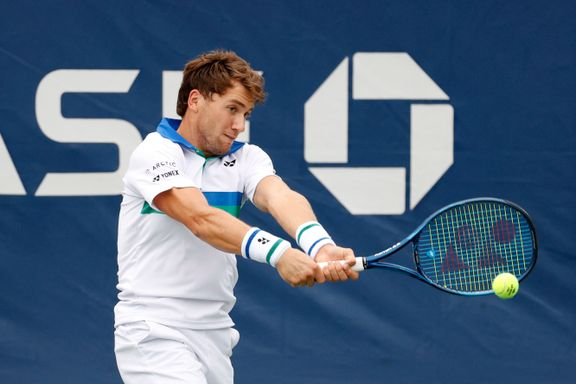 Frustrert Ruud røk ut av US Open