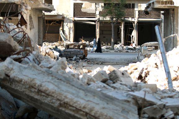 Nye dronebilder viser et Aleppo i ruiner
