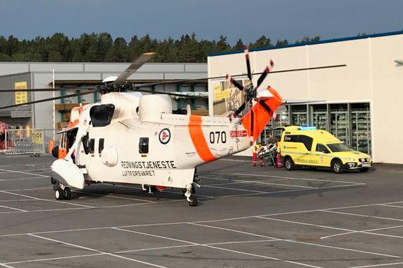 Fire til sykehus etter møteulykke i Oslofjordtunnelen