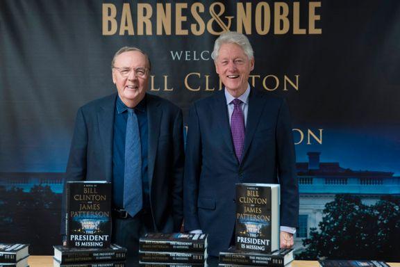 Bill Clinton har skrevet krimroman: Kjernekar ordner opp i proff thriller.