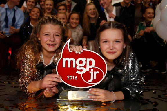 Vilde og Anna vant finalen i Melodi Grand Prix junior