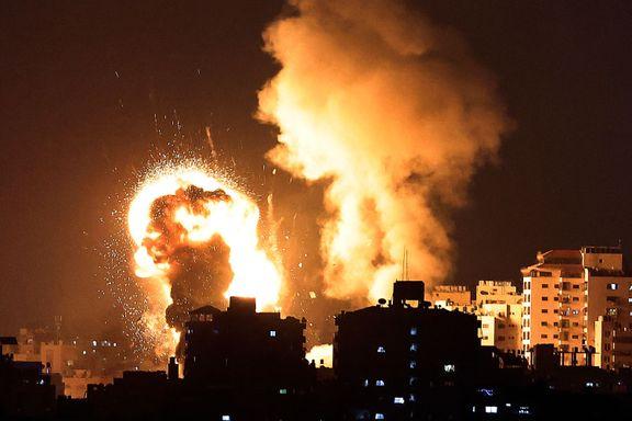 Flere raketter skutt fra Gaza mot Jerusalem. Israel svarer med nye luftangrep.