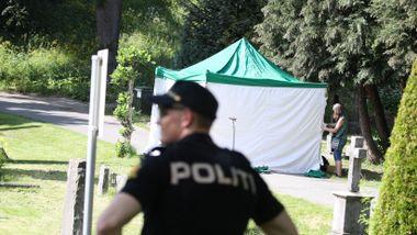Fant død person i en kum på gravlund: – Vedkommende er meldt savnet i Oslo