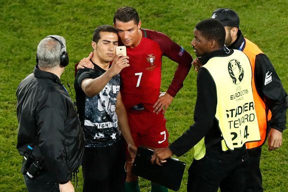 Portugal kan få straff etter Ronaldo-selfie