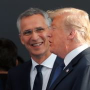 The Washington Post: Donald Trump skal ha funnet på et Stoltenberg-sitat