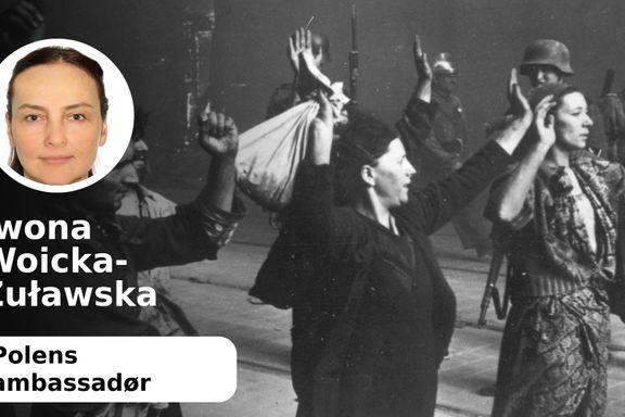 Polakkene har ikke ansvaret for dødsleirene