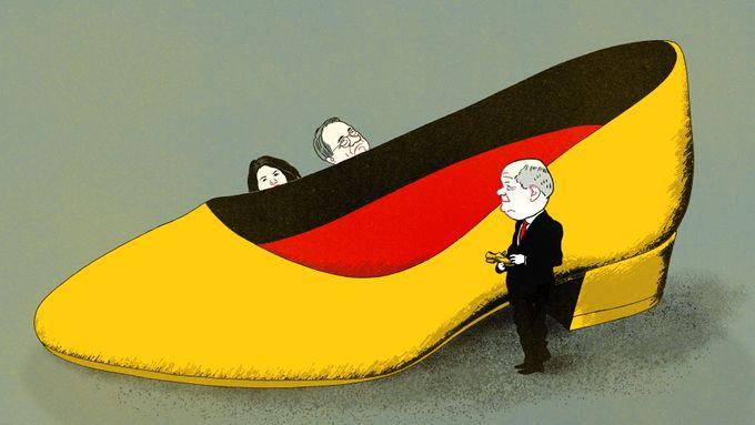 Tyskland får velge mellom en blå mann og en grønn kvinne