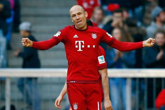 Robben scoret etter to måneder ute med skade