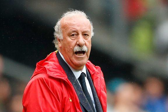 Spania-treneren har sagt opp jobben