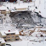 Dronebilder av Gjerdrum-skredet viser nye ras i katastrofeområdet