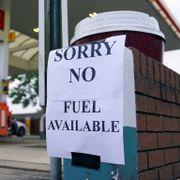 Britisk bensinpanikk: Fryser lov for å fylle tomme pumper