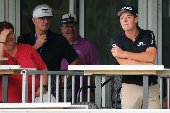 Den norske golfprofilen hylles for reaksjonen etter fiaskoslaget: – Har en smittende personlighet