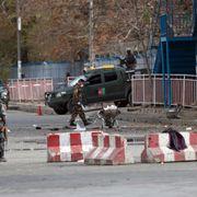 Stor eksplosjon ved demonstrasjon mot Taliban i Kabul