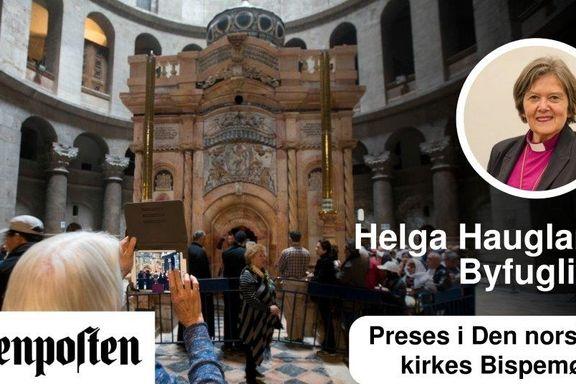 Den hellig gravs kirke i Jerusalem er åpnet etter restaurering. God påske!
