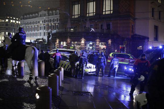 Tre pågrepet under demonstrasjon mot nynazisme i Oslo