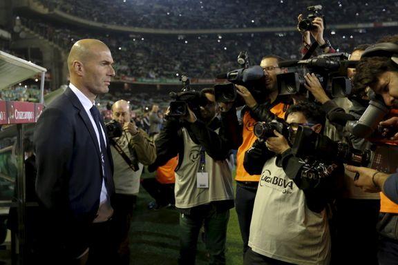 Zidane fikk sitt første poengtap som Real Madrid-manager
