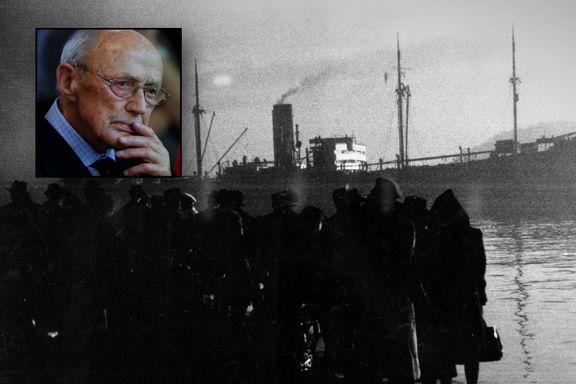 Mener ikke det er bevist at Hjemmefronten ble varslet om jødedeportasjonene