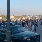 Flyplassen i Kabul er åpen igjen