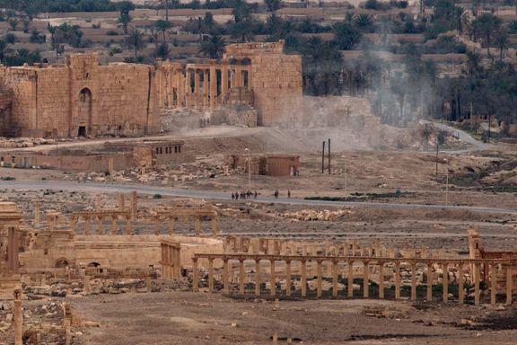 IS har ødelagt flere kulturminner i oldtidsbyen Palmyra